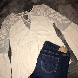 American Eagle Long Sleeve Blouse